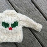 Mini Sweater For Christmas Tree