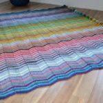 Chevron Rainbow Blanket
