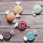 Crochet Valentine Candies