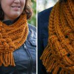 Crochet Woven Cowl