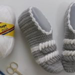 Crochet Twisted Slippers