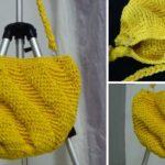 Crochet Swirly Handbag