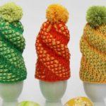 Crochet Tunisian Egg Cosy