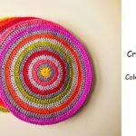 Crochet Colorful Mandala Set