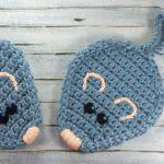 Crochet Mouse Potholders