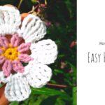 Crochet Easy Petal Flower