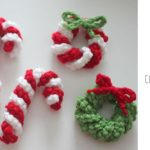 Crochet Christmas Candies by Sarah