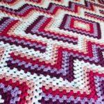Crochet Drop in the pond lap Blanket