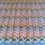Crochet Pulled Taffy Blanket