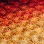 Crochet Fire Rose Blanket
