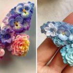 Crochet Flower Butterfly