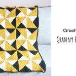 Crochet Granny Pinwheel Blanket