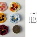 Crochet  Pansy Flower