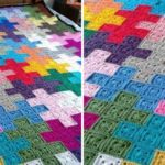Crochet Puzzle Blanket