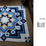 Crochet Blue Star Afghan
