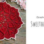 Crochet Sweetheart Doily