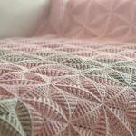Crochet 3D Triangle Motif Blanket