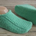 Knit Seamless Slippers