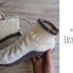 Knit Easy Celtic Slippers