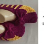 Knit The Simplest Slippers