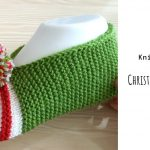 Knit Christmas Easy Slippers