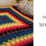 Crochet Trip Around the World Throw