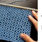 Knit Simple and Effective Stitch