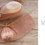 Knit Sunbeam Slippers