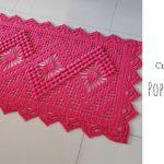 Crochet Popcorn Spider Rug