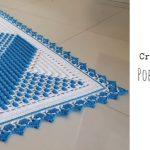 Crochet Popcorn Stitch Rug