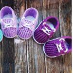 Crochet Cute Baby Shoes