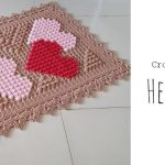 Crochet Hearts Blanket