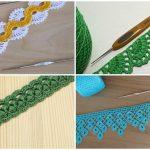 Crochet blanket edges