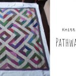Knit Pathway Blanket