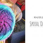 Knit Spiral One-skein Hat