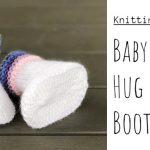 Knit Baby Hug Slippers