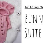 Knit Baby Bunny Suite