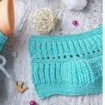 Knit Simple Elastic Baby Slippers